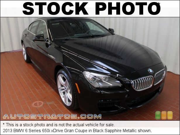 Stock photo for this 2013 BMW 6 Series 650i Gran Coupe 4.4 Liter DI TwinPower Turbocharged DOHC 32-Valve VVT V8 8 Speed Sport Automatic