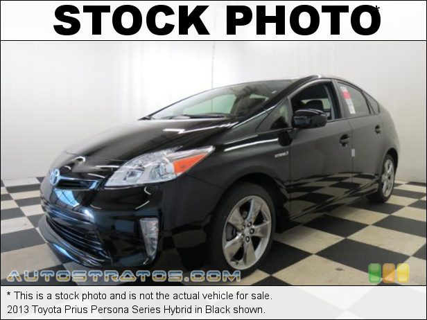 Stock photo for this 2013 Toyota Prius Hybrid 1.8 Liter DOHC 16-Valve VVT-i 4 Cylinder/Electric Hybrid ECVT Automatic