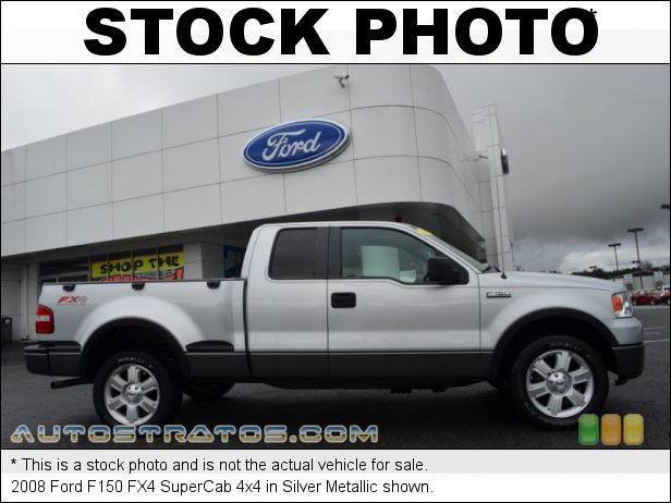 Stock photo for this 2008 Ford F150 SuperCab 4x4 5.4 Liter SOHC 24-Valve Triton V8 4 Speed Automatic