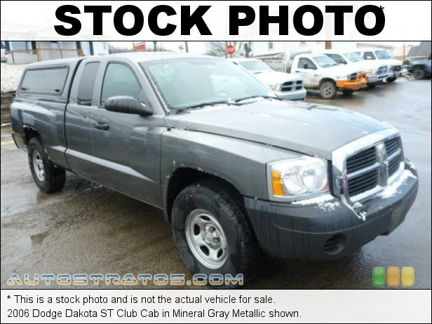 Stock photo for this 2006 Dodge Dakota ST Club Cab 3.7 Liter SOHC 12-Valve PowerTech V6 6 Speed Manual