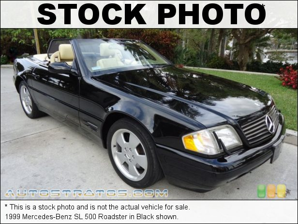 Stock photo for this 1999 Mercedes-Benz SL 500 Roadster 5.0 Liter SOHC 24-Valve V8 5 Speed Automatic