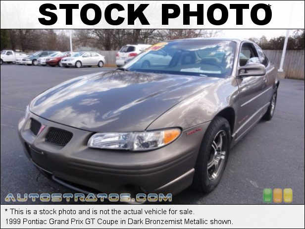 Stock photo for this 1999 Pontiac Grand Prix GT Coupe 3.8 Liter OHV 12-Valve V6 4 Speed Automatic