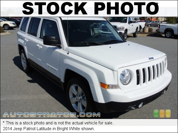 Stock photo for this 2014 Jeep Patriot  2.0 Liter DOHC 16-Valve Dual VVT 4 Cylinder 6 Speed Automatic