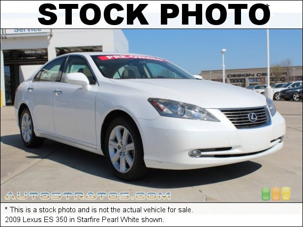Stock photo for this 2009 Lexus ES 350 3.5 Liter DOHC 24-Valve VVT V6 6 Speed Automatic