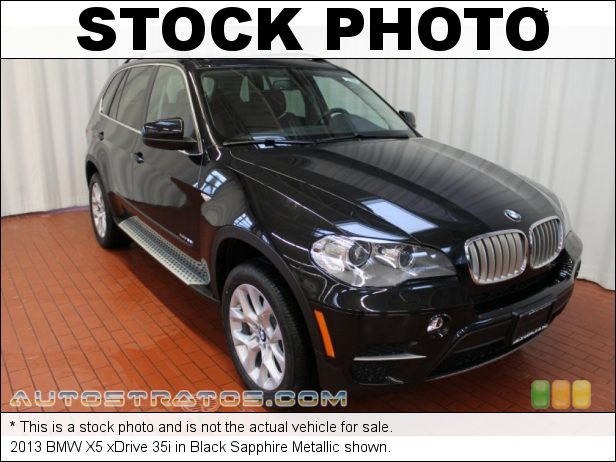 Stock photo for this 2013 BMW X5 xDrive 35i 3.0 Liter TwinPower-Turbocharged DOHC 24-Valve VVT Inline 6 Cyli 8 Speed Sport Steptronic Automatic