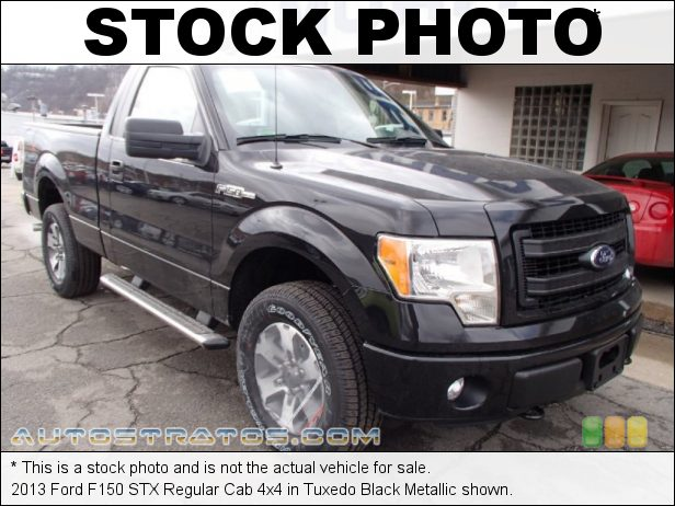 Stock photo for this 2013 Ford F150 Regular Cab 4x4 5.0 Liter Flex-Fuel DOHC 32-Valve Ti-VCT V8 6 Speed Automatic