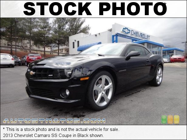 Stock photo for this 2013 Chevrolet Camaro SS Coupe 6.2 Liter Edelbrock E- Force Supercharged OHV 16-Valve V8 6 Speed Manual