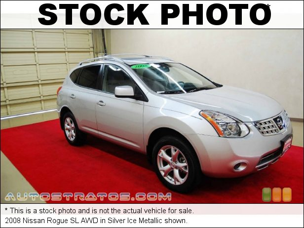 Stock photo for this 2008 Nissan Rogue SL AWD 2.5 Liter DOHC 16V VVT 4 Cylinder Xtronic CVT Automatic