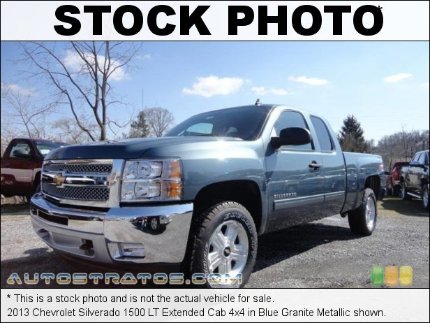 Stock photo for this 2013 Chevrolet Silverado 1500 LT Extended Cab 4x4 5.3 Liter OHV 16-Valve VVT Flex-Fuel Vortec V8 6 Speed Automatic