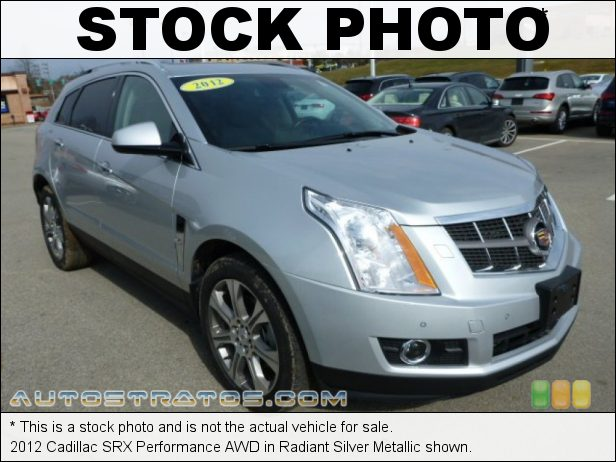 Stock photo for this 2012 Cadillac SRX Performance AWD 3.6 Liter DI DOHC 24-Valve VVT V6 6 Speed Automatic
