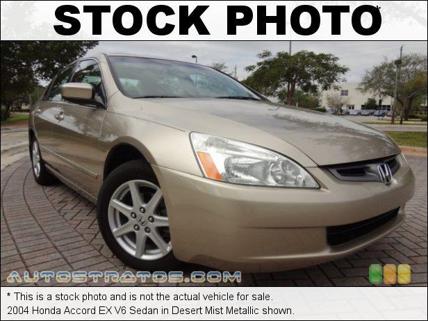 Stock photo for this 2004 Honda Accord EX V6 Sedan 3.0 Liter SOHC 24-Valve V6 5 Speed Automatic