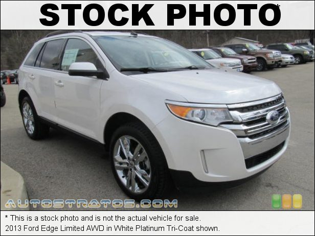Stock photo for this 2013 Ford Edge Limited AWD 3.5 Liter DOHC 24-Valve Ti-VCT V6 6 Speed SelectShift Automatic
