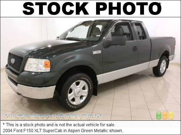 Stock photo for this 2004 Ford F150 SuperCab 5.4 Liter SOHC 24V Triton V8 4 Speed Automatic