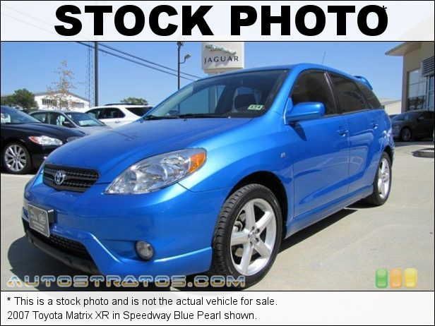 Stock photo for this 2007 Toyota Matrix  1.8L DOHC 16V VVT-i 4 Cylinder 4 Speed Automatic