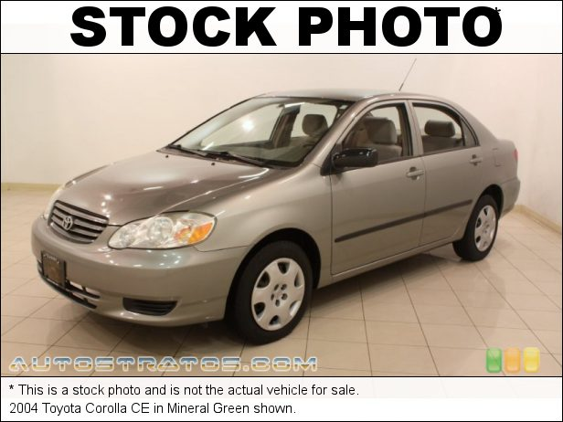 Stock photo for this 2004 Toyota Corolla  1.8 Liter DOHC 16-Valve VVT-i 4 Cylinder 4 Speed Automatic