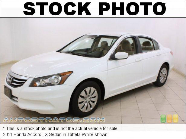 Stock photo for this 2011 Honda Accord LX Sedan 2.4 Liter DOHC 16-Valve i-VTEC 4 Cylinder 5 Speed Automatic