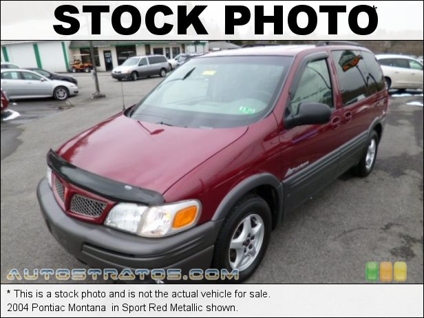 Stock photo for this 2004 Pontiac Montana  3.4 Liter OHV 12-Valve V6 4 Speed Automatic
