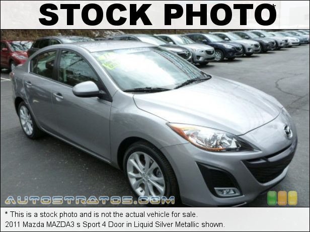 Stock photo for this 2011 Mazda MAZDA3 s Sport 4 Door 2.5 Liter DOHC 16-Valve VVT 4 Cylinder 5 Speed Sport Automatic