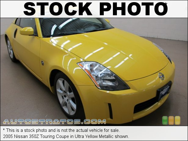 Stock photo for this 2005 Nissan 350Z Anniversary Edition Coupe 3.5 Liter DOHC 24-Valve V6 6 Speed Manual