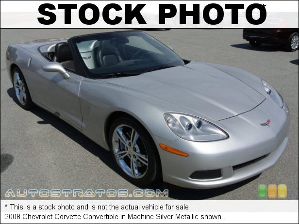 Stock photo for this 2008 Chevrolet Corvette Convertible 6.2 Liter Edelbrock Supercharged OHV 16-Valve LS3 V8 6 Speed Manual