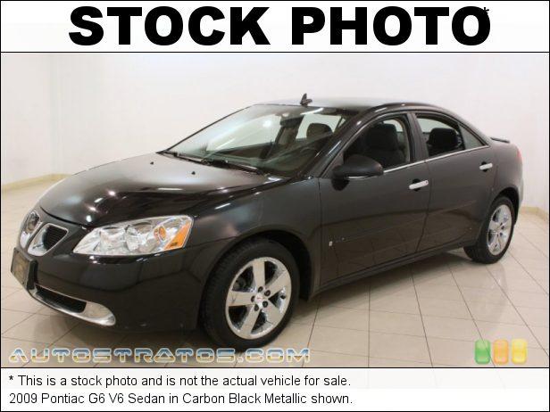 Stock photo for this 2009 Pontiac G6 V6 Sedan 3.5 Liter OHV 12-Valve VVT V6 4 Speed Automatic