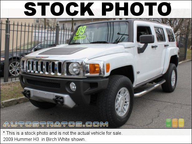 Stock photo for this 2009 Hummer H3  3.7 Liter Vortec Inline 5 Cylinder 4 Speed Automatic
