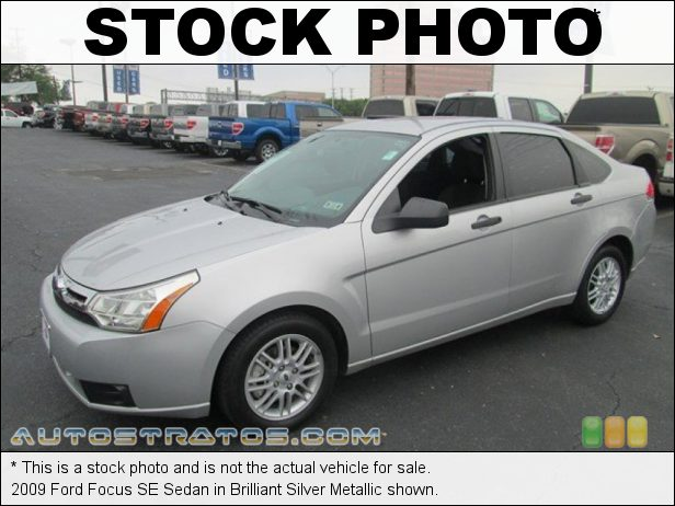 Stock photo for this 2009 Ford Focus SE Sedan 2.0 Liter DOHC 16-Valve Duratec 4 Cylinder 5 Speed Manual