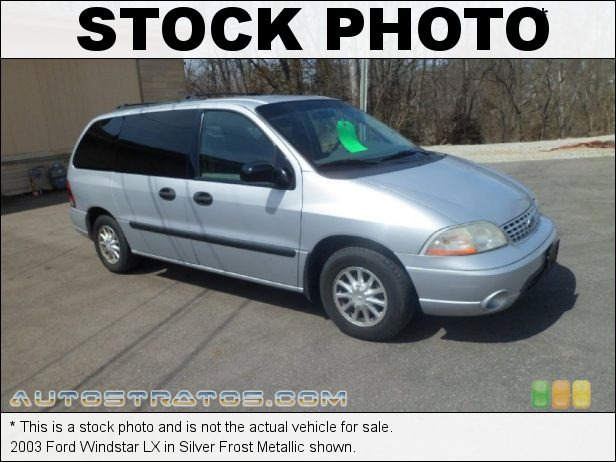 Stock photo for this 2003 Ford Windstar LX 3.8 Liter OHV 12 Valve V6 4 Speed Automatic