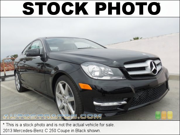 Stock photo for this 2013 Mercedes-Benz C 250 Coupe 1.8 Liter DI Turbocharged DOHC 16-Valve VVT 4 Cylinder 7 Speed Automatic