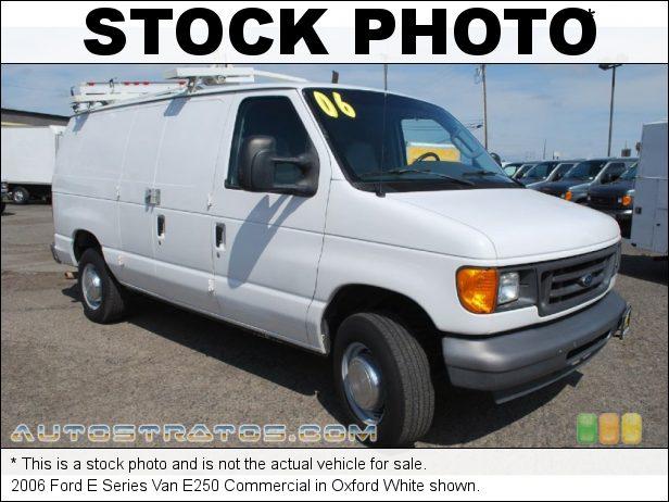 Stock photo for this 2006 Ford E Series Van E250 5.4 Liter SOHC 16-Valve Triton V8 4 Speed Automatic