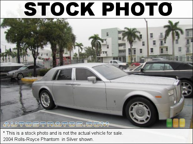 Stock photo for this 2004 Rolls-Royce Phantom  6.75 Liter DOHC 48-Valve V12 6 Speed Automatic