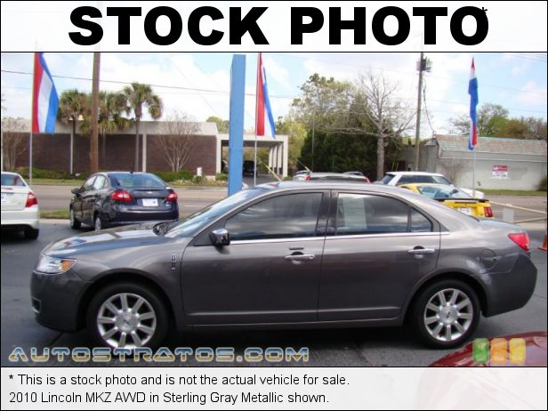 Stock photo for this 2010 Lincoln MKZ AWD 3.5 Liter DOHC 24-Valve iVCT Duratec V6 6 Speed Selectshift Automatic