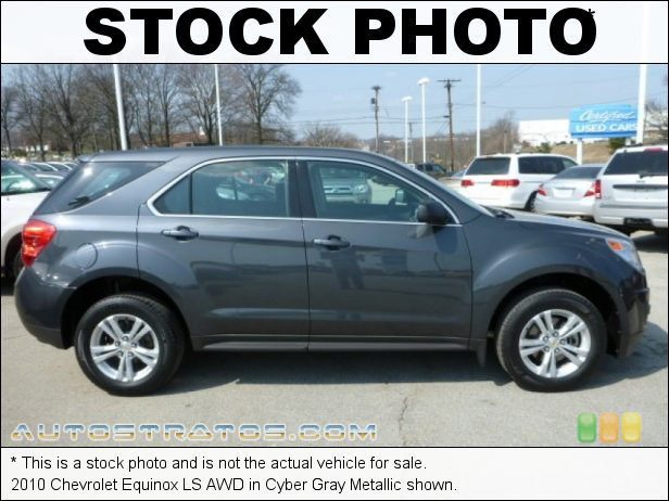 Stock photo for this 2010 Chevrolet Equinox LS AWD 2.4 Liter DOHC 16-Valve VVT 4 Cylinder 6 Speed Automatic