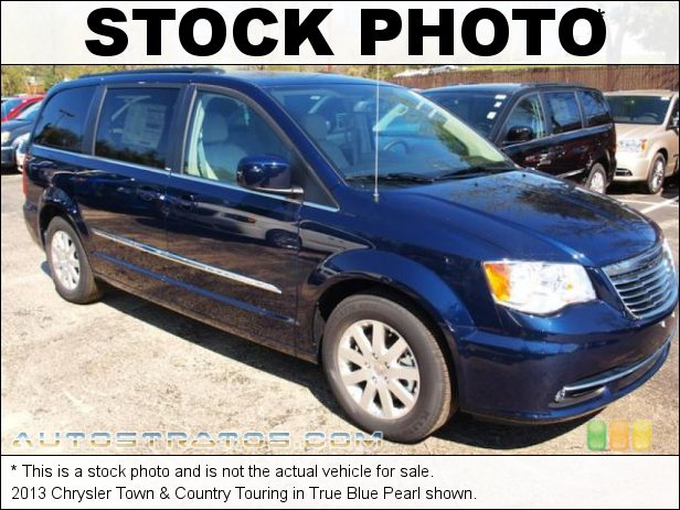 Stock photo for this 2013 Chrysler Town & Country Touring 3.6 Liter DOHC 24-Valve VVT Pentastar V6 6 Speed Automatic