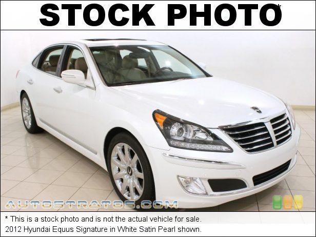 Stock photo for this 2012 Hyundai Equus Signature 5.0 Liter GDI DOHC 32-Valve D-CVVT V8 8 Speed Shiftronic Automatic