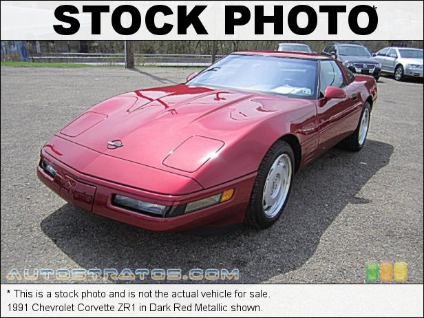 Stock photo for this 1991 Chevrolet Corvette ZR1 5.7 Liter DOHC 32-Valve LT5 V8 6 Speed Manual