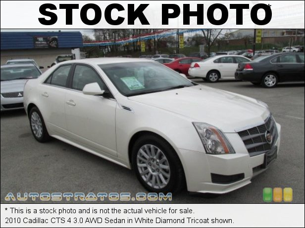 Stock photo for this 2010 Cadillac CTS 4 3.0 AWD Sedan 3.0 Liter DI DOHC 24-Valve VVT V6 6 Speed Automatic