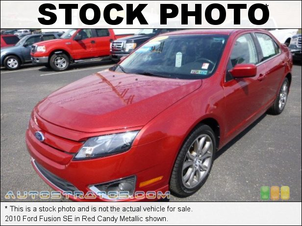 Stock photo for this 2010 Ford Fusion SE 2.5 Liter DOHC 16-Valve VVT Duratec 4 Cylinder 6 Speed Automatic