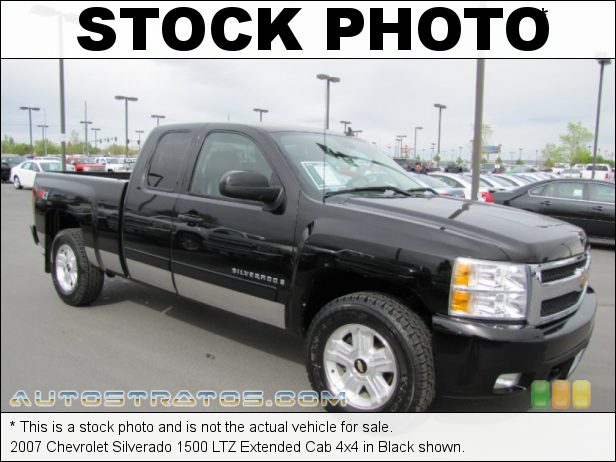Stock photo for this 2007 Chevrolet Silverado 1500 LT Extended Cab 4x4 5.3 Liter OHV 16-Valve Vortec V8 4 Speed Automatic