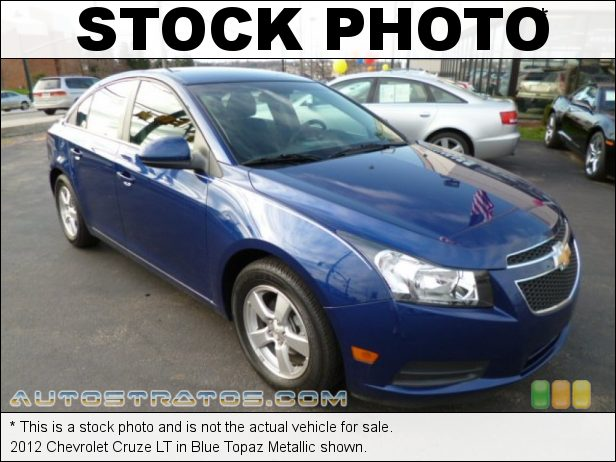 Stock photo for this 2012 Chevrolet Cruze LT 1.4 Liter DI Turbocharged DOHC 16-Valve VVT 4 Cylinder 6 Speed Automatic