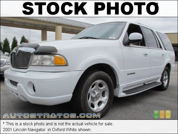 Stock photo for this 2001 Lincoln Navigator  5.4 Liter DOHC 32-Valve InTech V8 4 Speed Automatic