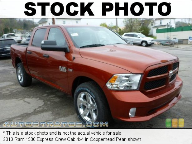 Stock photo for this 2013 Ram 1500 Express Crew Cab 4x4 5.7 Liter HEMI OHV 16-Valve VVT MDS V8 6 Speed Automatic