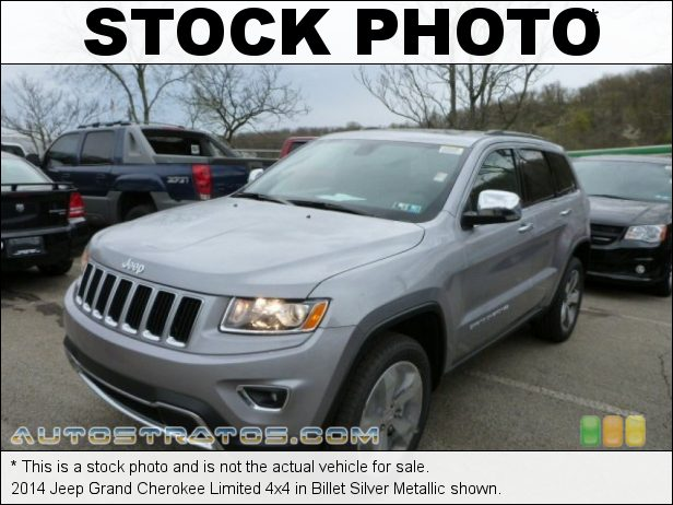 Stock photo for this 2014 Jeep Grand Cherokee Limited 4x4 3.6 Liter DOHC 24-Valve VVT Pentastar V6 8 Speed Automatic