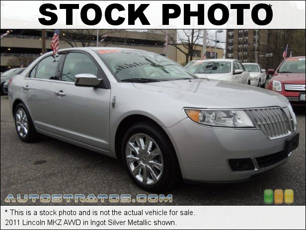 Stock photo for this 2011 Lincoln MKZ AWD 3.5 Liter DOHC 24-Valve iVCT Duratec V6 6 Speed Select Shift Automatic