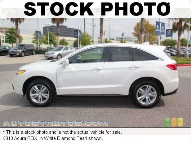 Stock photo for this 2013 Acura RDX  3.5 Liter SOHC 24-Valve VTEC V6 6 Speed Sequential SportShift Automatic