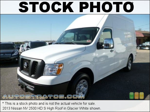 Stock photo for this 2014 Nissan NV HD High Roof 4.0 Liter DOHC 24-Valve CVTCS V6 5 Speed Automatic