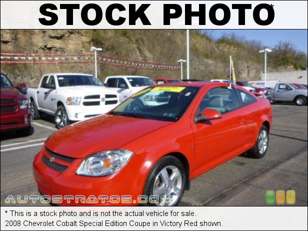 Stock photo for this 2008 Chevrolet Cobalt Coupe 2.2 Liter DOHC 16-Valve 4 Cylinder 4 Speed Automatic