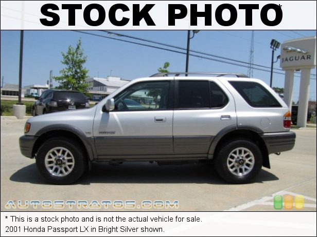 Stock photo for this 2001 Honda Passport LX 3.2 Liter DOHC 24-Valve V6 4 Speed Automatic