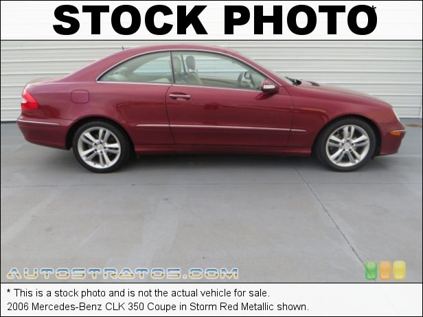 Stock photo for this 2006 Mercedes-Benz CLK 350 Coupe 3.5 Liter DOHC 24-Valve VVT V6 7 Speed Automatic