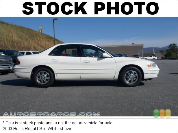 Stock photo for this 2003 Buick Regal LS 3.8 Liter OHV 12-Valve V6 4 Speed Automatic